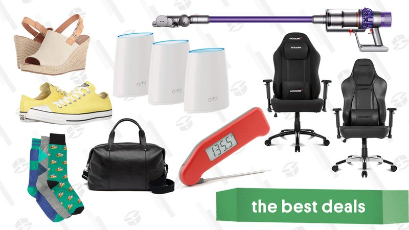 Friday's Best Deals: Dyson Vacuum, Netgear Orbi, Clear the Rack, and More