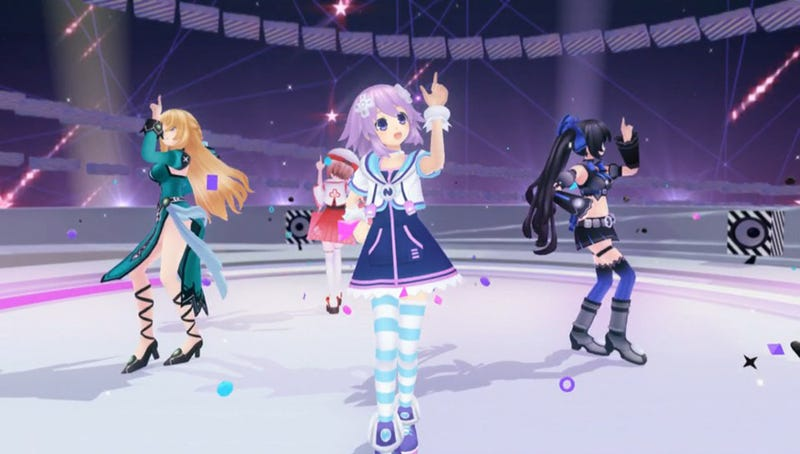 Illustration for article titled Neptunia PP is an Amusing Parody of iDOLM@STER
