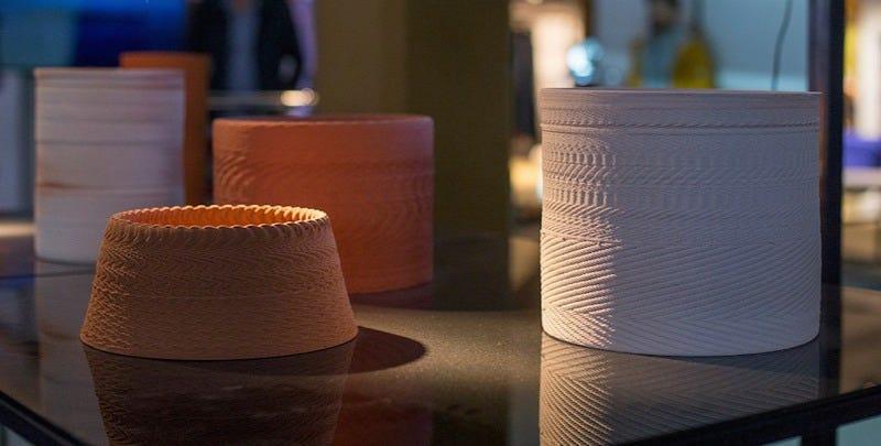 3D printed sonic ceramics. Credit: Studio van Broekhoven.
