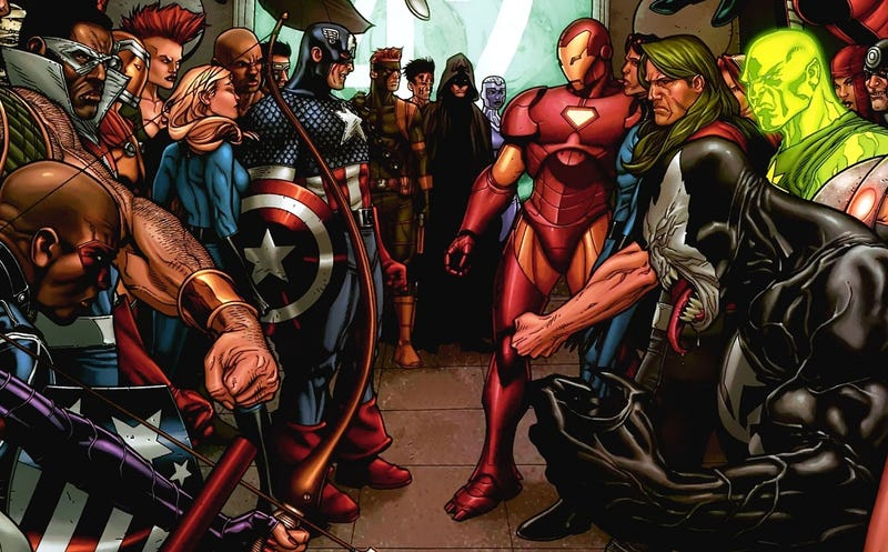 Illustration for article titled Todo lo que debes saber acerca de Civil War (el cómic) y sus diferencias con la película
