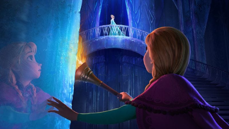 Illustration for article titled Frozen is another step forward for Disney princesses
