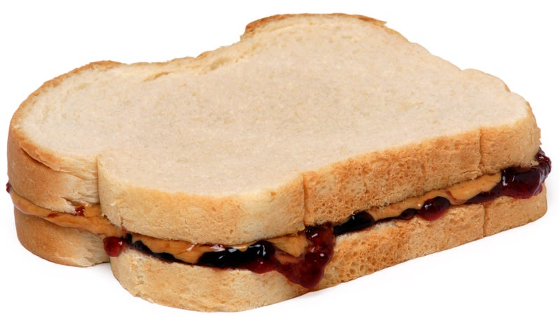 Illustration for article titled Peanut Butter Sandwich Pairings, Ranked