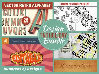 Illustration for article titled Last Minute Holiday Design Needs? Get 90% off the Holiday Design Bundle
