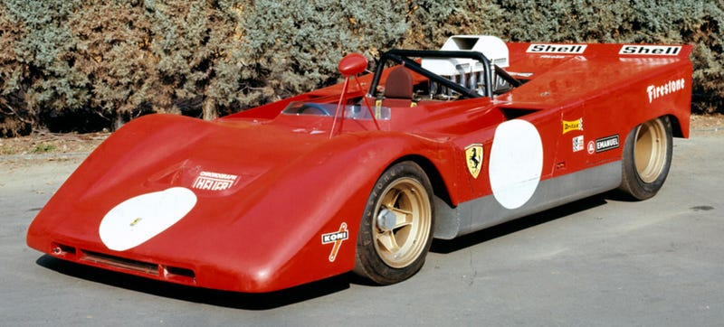 This Forgotten Race Car Has The Biggest Engine Ferrari Ever Made