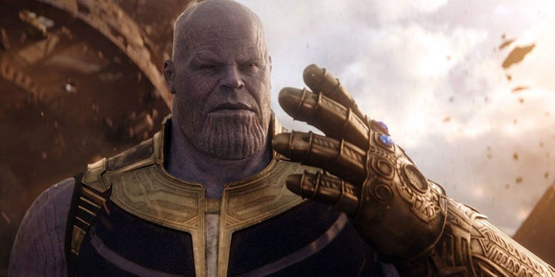 Illustration for article titled ¿Quieres saber si Thanos te mataría en el mundo real? Participa en esta purga masiva en Reddit