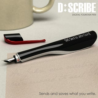 Illustration for article titled D:Scribe Fountain Pen Writes SMS, Emails