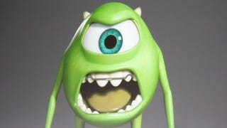 Illustration for article titled Monsters University Concept Art! Behold Sulley's freshman 15 and Mike's retainer