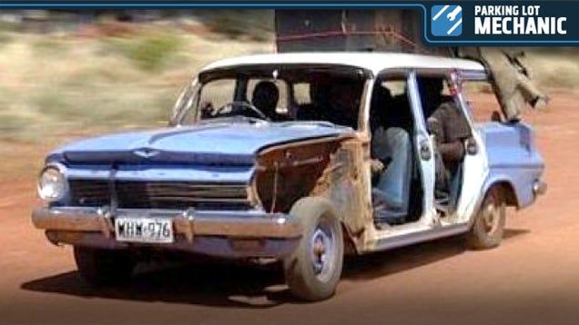 Aboriginal Car Mechanic