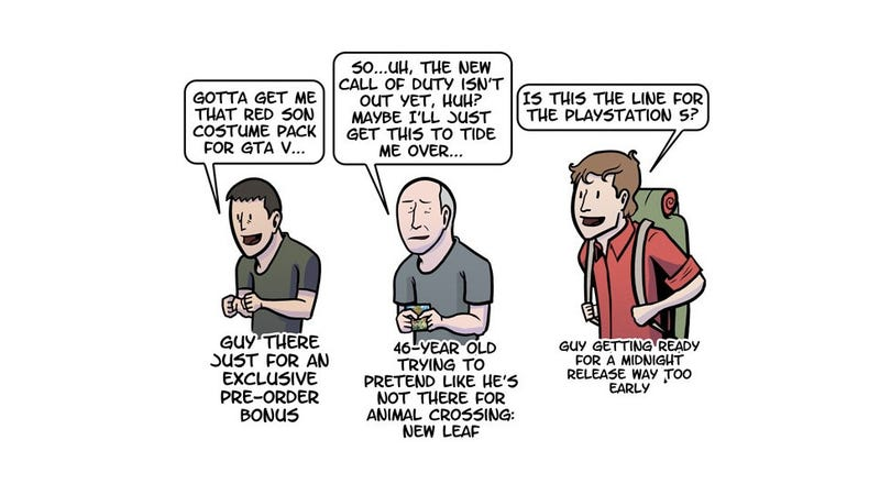 Illustration for article titled These Are The 13 Types Of People You Meet At Gamestop