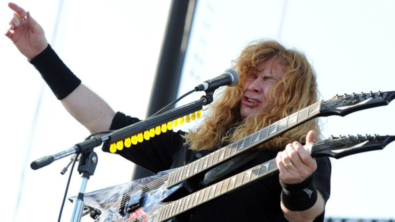 Illustration for article titled Dave Mustaine