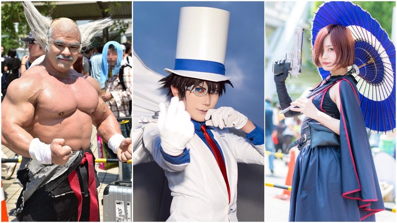 Illustration for article titled Summer Cosplay Heats Up Japan
