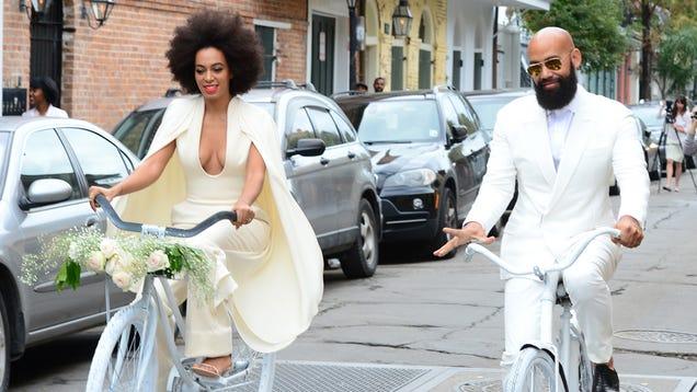 Solange's Wedding Featured Something Borrowed, Something Blue, HIVES