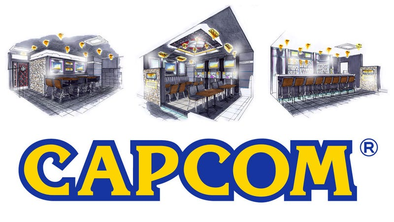 Illustration for article titled Capcom is Opening a bar. A Real, Drinking Bar.