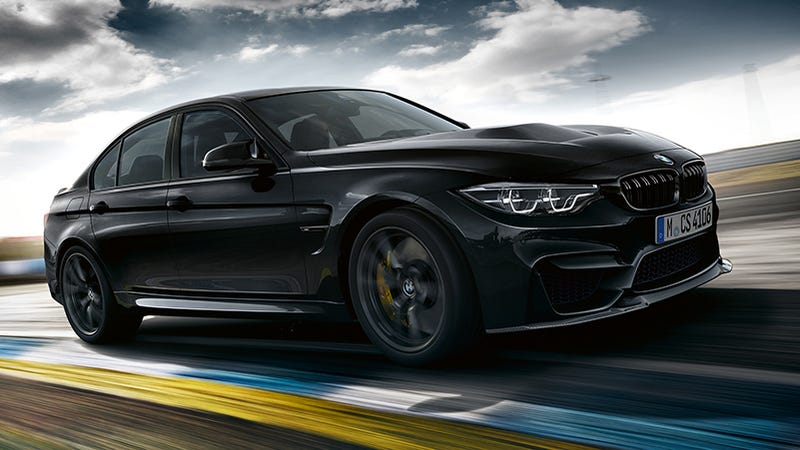 The 453 Horsepower 2018 BMW M3 CS Is Now The Most Hardcore ...