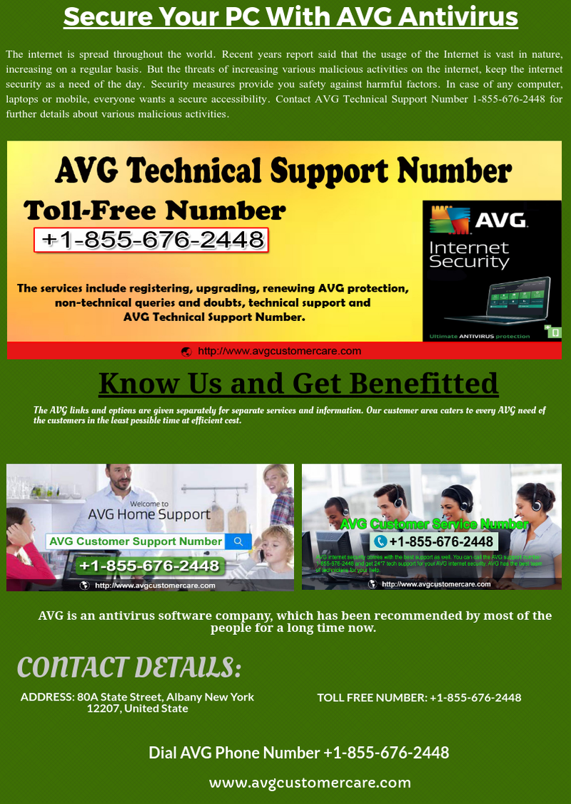 Illustration for article titled AVG Technical Support Number