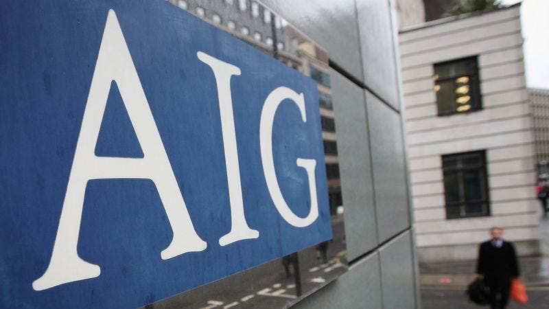 Illustration for article titled AIG Nearly Blows All The Goodwill Built Up By Wall Street In Recent Years