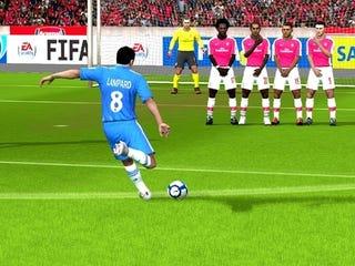 Illustration for article titled Arsenal vs. Chelsea Highlight New FIFA Online Screens