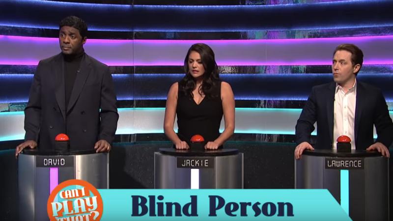 Idris Elba, Cecily Strong, Beck Bennett