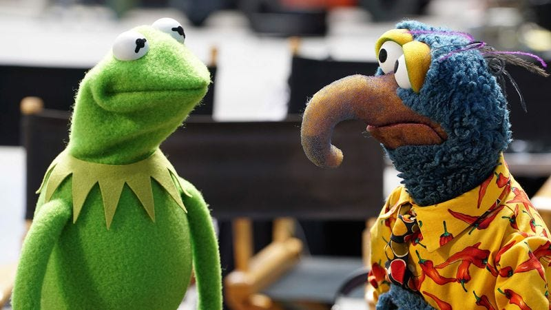 "Illustration for article titled The Muppets are back! (And ""adult"" this time, which, sure, we guess that could work...)"