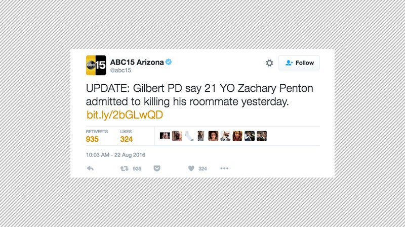 21-Year-Old Zachary Penton Tweets About Killing Roommate, Allegedly Does It