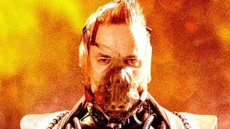 A crop of Shane West as Bane in Fox's Gotham.