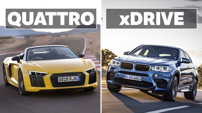 BMW XDrive VS Audi Quattro Which AWD System Is The Best - Bmw vs audi