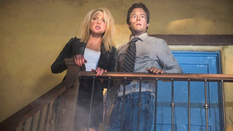 Ciara Hanna as Heather Locklear and Frank Rose Bailey IV as Andrew Shue