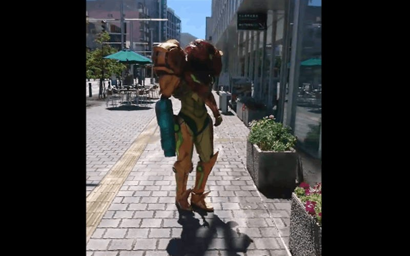 Metroid Cosplay Is Blowing Socks Off