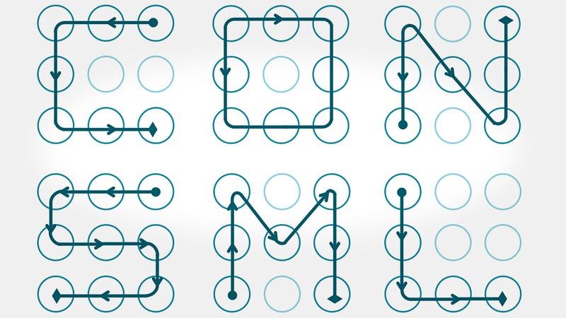Illustration for article titled Use Complex Patterns, Avoid Letters For More Secure Android Lock Patterns