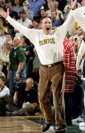 Illustration for article titled SonicsGate Creator Just Wants An Unmolested Trip To Costco, A Basketball Team In Seattle