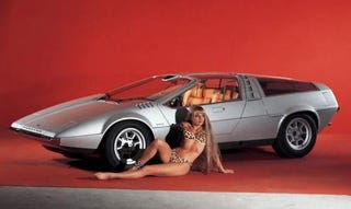 Illustration for article titled 1970 Porsche Tapiro Concept