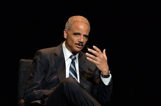 Eric Holder (Slaven Vlasic/Getty Images)