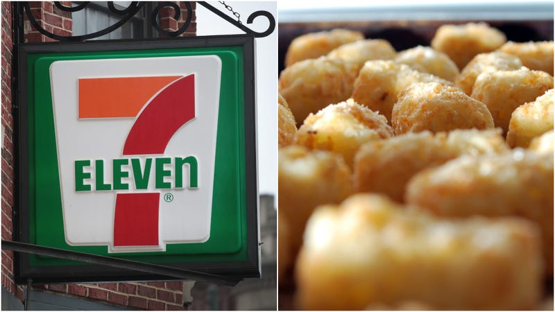 Illustration for article titled This is not a drill: 7-Eleven debuts DIY tater-tot bar