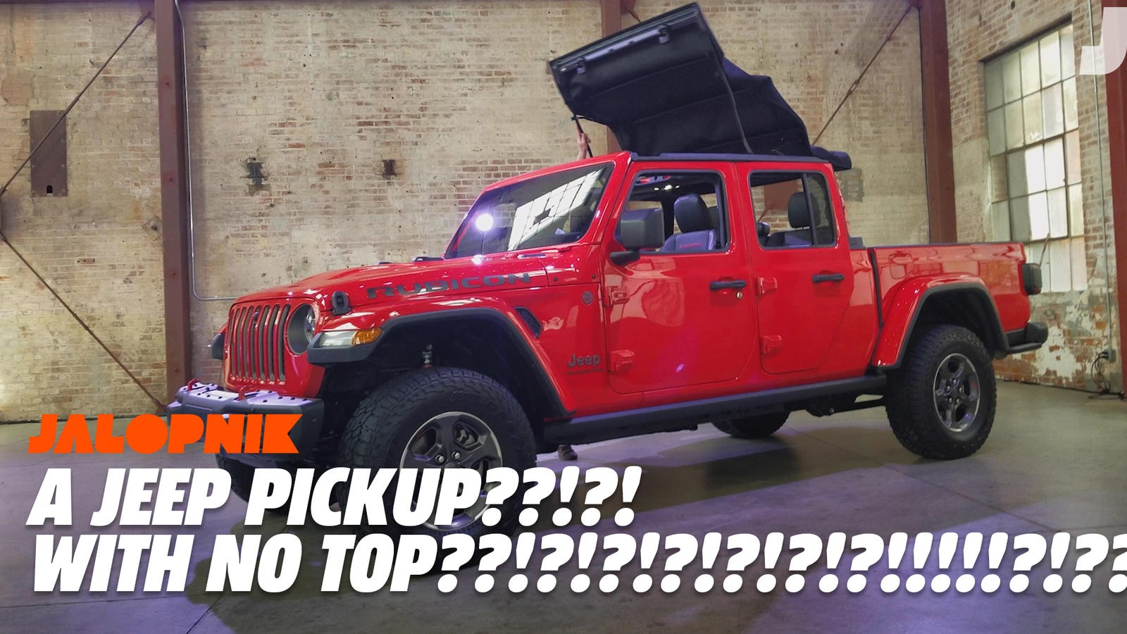 The 2020 Jeep Gladiator S Roof Comes Off In A Few Easy Moves