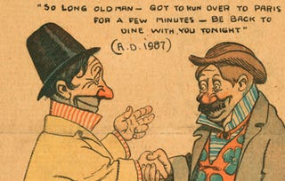 Illustration for article titled This 1901 Cartoon Takes a Humorous Look at the Future of New York