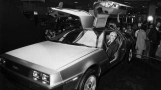 Illustration for article titled The stainless steel life of playboy carmaker John Z. DeLorean