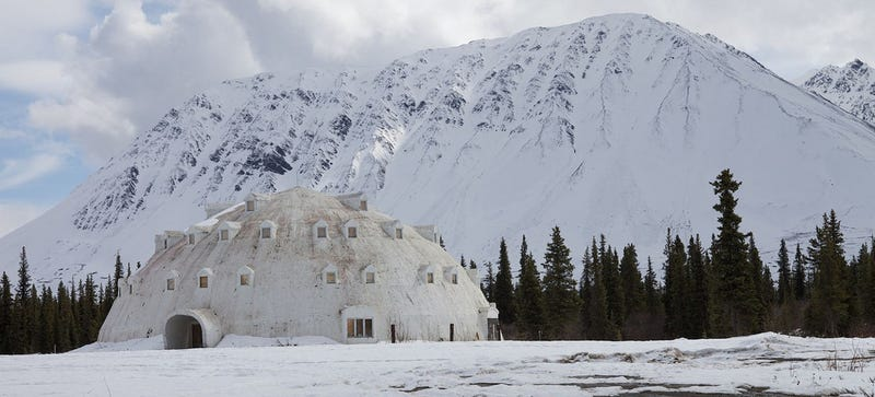 Illustration for article titled This Abandoned Igloo Hotel in Alaska Could Be Yours For $300,000