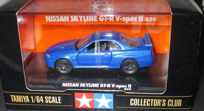 Illustration for article titled Review: Tamiya Nissan Skyline R34 V-spec