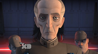 Illustration for article titled Star Wars Rebels Reminds Us What A Badass Grand Moff Tarkin Is