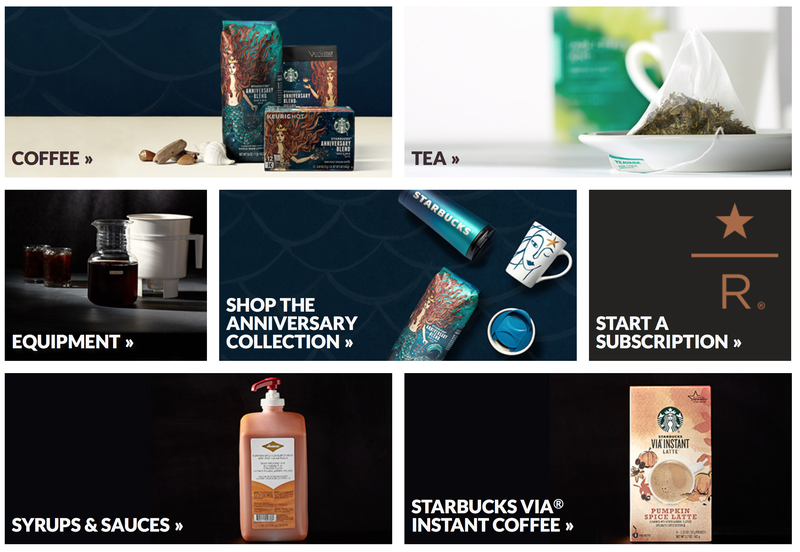 30% off sitewide at Starbucks, promo code ENJOY30