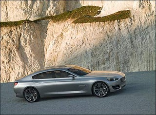 Illustration for article titled Shanghai Surprise: BMW CS Concept