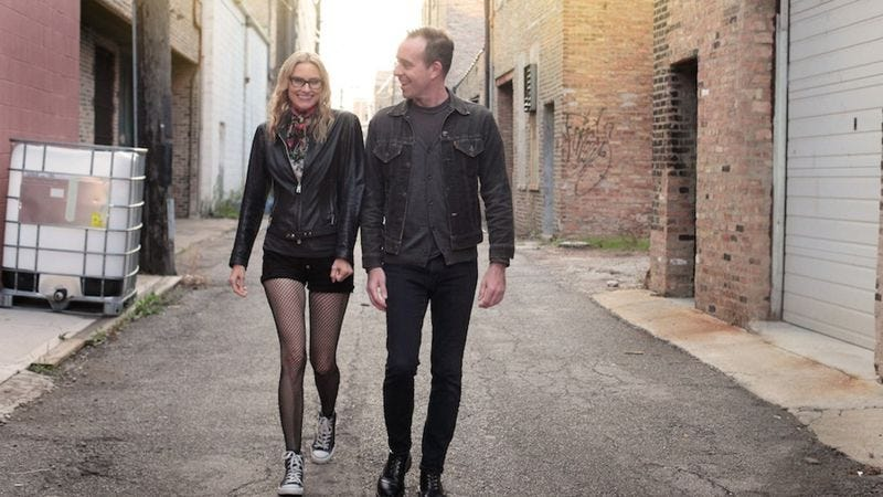 Illustration for article titled Ted Leo and Aimee Mann on their first bands and first dates