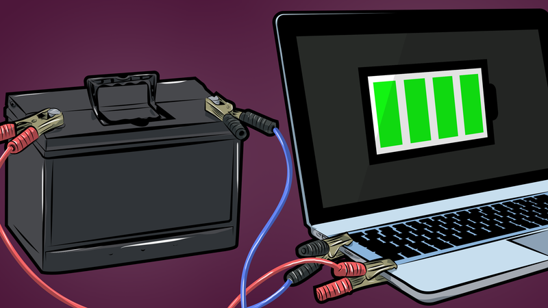 Illustration for article titled Top 10 Ways to Extend Your Laptop's Battery Life