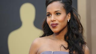 Kerry Washington arrives on the red carpet for the 86th Academy Awards March 2, 2014, in Hollywood, Calif.ROBYN BECK/AFP/Getty Images