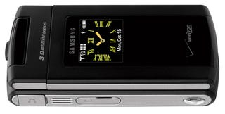 Illustration for article titled Samsung's Thin 3-Megapixel SCH-u900 FlipShot Camera Phone Hits Verizon
