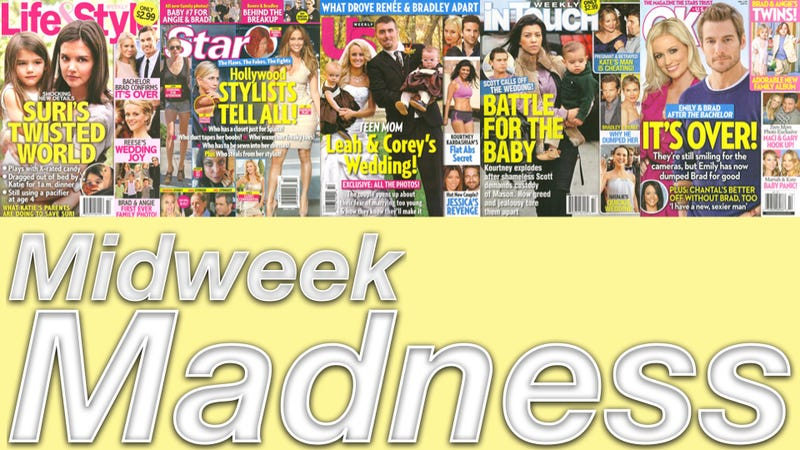 Illustration for article titled This Week In Tabloids: Suri Cruise To Launch Production Company Any Day Now