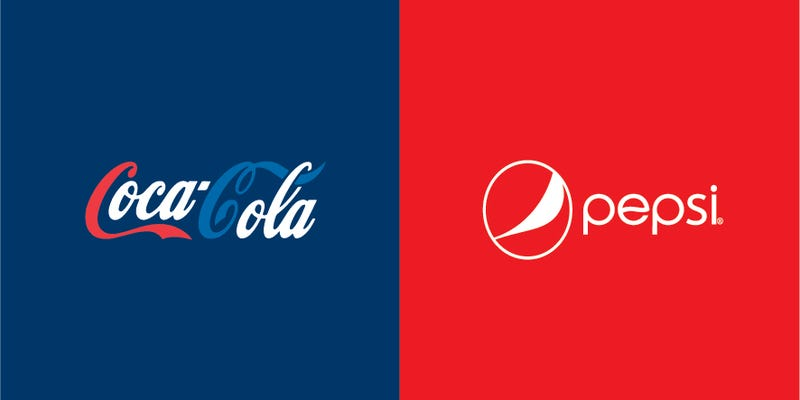 Illustration for article titled What happens when you swap the colors of famous logos?