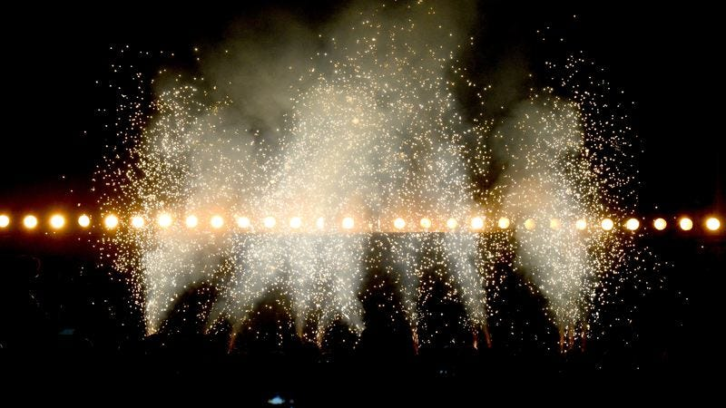 Kanye's in there, somewhere (Image by: Getty Images)