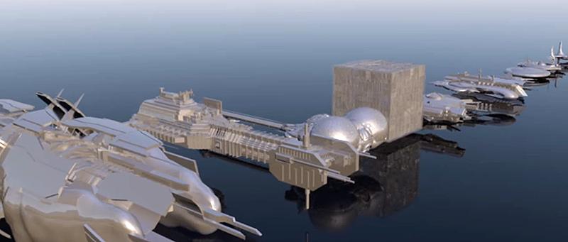 Illustration for article titled Las naves más conocidas de la ciencia-ficción, comparadas mediante modelos 3D