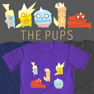 Illustration for article titled WeLoveFine Adventure Time Shirt Contest